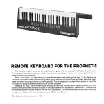 Remote Keyboard for the Prophet 5